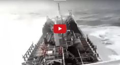 Watch this terrifying video Ship Caught In North Atlantic Hurricane.Subscribe to…