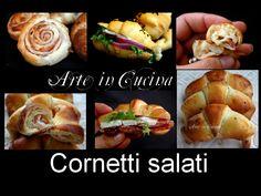 Cornetti salati per ANTIPASTI E FINGER FOOD