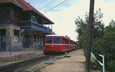Pikes Peak Railway Train in Manitou Springs Station #PinPikesPeak