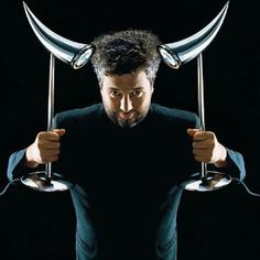 Philippe Starck :) - zobacz koniecznie jego pojemnik z tarką do sera Mister Meumeu na FabrykaForm.pl, a zobaczysz podobieństwo :)