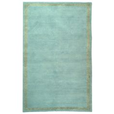 Inspiration, this is way too expensive!  Zinc door- Suzanne Kasler Athene Aqua Gold Wool