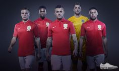 After the launch of England's first Nike home kit last week, the American sportswear company has now unveiled the 2013 England away kit this Sunday. England National Football Team, England Football Shirt, Football Shirts, Sports Jerseys, England Kit, Football Fashion, Soccer Shop, England, Shirts