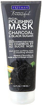 Freeman Feeling Beautiful Facial Polishing Mask with Charcoal and Black Sugar (44). See more charcoal products when you click!