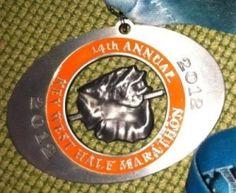 Key West Half Marathon Medal 2012