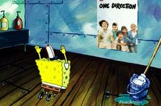 Wow everyone like 1D even spongebob