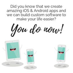 Did you know that we create amazing iOS & Android apps and we can build custom software to make your life easier? Seo Agency, Web Design Agency, Competitor Analysis, Surrey, Android Apps, Online Marketing, Did You Know, Print Design, Ios