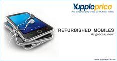 Get best deals on #Refurbishedmobiles! Hurry! Grab this offer! #yuppleprice #onlinemobile