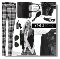 """""""Vogue"""" by queenvirgo ❤ liked on Polyvore featuring Alexander McQueen, Superfine, Yves Saint Laurent, Alexander Wang, Bobbi Brown Cosmetics and Ray-Ban"""