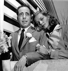 Bacall, Lauren|With Humphrey Bogart