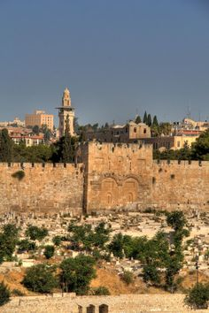 Eastern Gates In Jerusalem, These are the gates that will crumble and let Jesus walk through upon His return to earth
