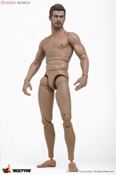 Hot Toys TrueType - 1/6 scale action figure body. New generation - Caucasian male with Jake Gyllenhaal head