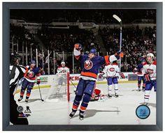 "Matt Martin 2013-14 NY Islanders - 11"" x 14"" Photo in a Glassless Sports Frame"