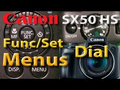 Canon SX50 HS - Menus - Func/Set - Dial de opções de Fotografia - Sit Ko...
