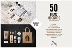 Coffee Stationery / Branding Mock-Up by forgraphic™ on Creative Market