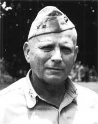 Roy Geiger *** Commanding General, United States 10th Army; Commanding General, Fleet Marine Force, Pacific (Note: He was an air officer in the Marine Corps who commanded an American Field Army in Combat--the only Marine ever to do this)