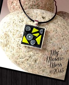 A personal favorite from my Etsy shop https://www.etsy.com/listing/219055965/funky-and-fun-lime-green-and-millefiori