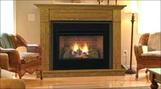 24 inch gas fireplace insert