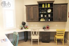 Thrifty and Chic - DIY Projects and Home Decor..cabinets .. for future some year!