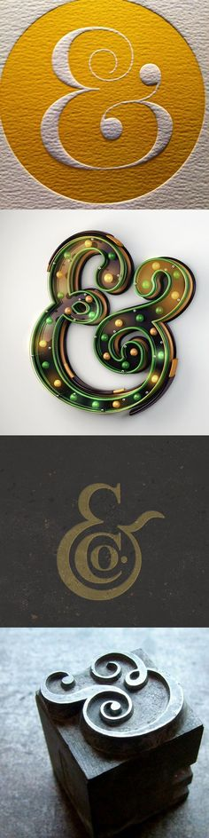 Everyone loves an ampersand #typography