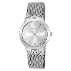 Reloj Tmesh plateado small de acero inoxidable - Tous