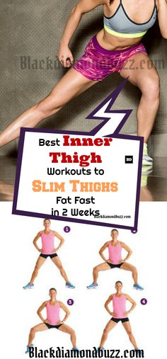 Best Inner Thigh Workouts to Slim Thighs Fat Fast in 2 Weeks.#innerthigh