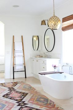 The #1 Bathroom Trend Will Make You Feel Like You're Traveling the World #purewow #bathroom #home #renovation