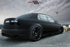 Saab 9-5 Sedan - Black Matte by MurilloDesign on DeviantArt