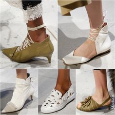 Derek Lam Spring 2016 Shoes Love this minimalist-but-not-so-minimalis aesthetic. There's something so clean & cool about it. Love me that slip-on laser cut sneaker!