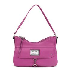 nicole by Nicole Miller® Alix Double-Zip Shoulder Bag  found at @JCPenney