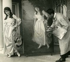 This post is by Sloan DeForest of the Mary Pickford Foundation . As the Foundation is in the process of building a new website, Sloan is. Silent Film Stars, Movie Stars, Classic Hollywood, Old Hollywood, Edna Purviance, Poor Little Rich Girl, Artist Film, Douglas Fairbanks, Mary Pickford