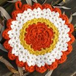 FREE  VINTAGE CROCHET PATTERN FOR HOT PAD.