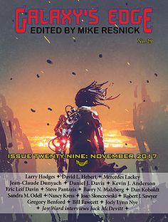 """Writing stories with disabled characters: how I wrote """"The Coming of Darkness"""" which was just published in Galaxy's Edge magazine."""