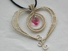 handmade wirework jewellery - Google Search