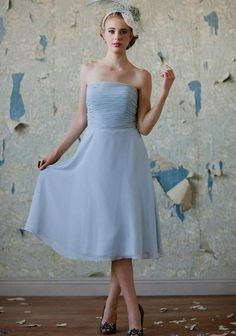Inspirational Powder Blue Wedding Dress Check more at http://svesty.com/powder-blue-wedding-dress/