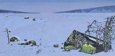 Rolf Nerli - Kulden biter Fine Art, Wall Art, Painting, Art, Painting Art, Paintings, Paint, Draw, Visual Arts