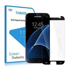 #cellphone #accessries S7 Screen Protector/Galaxy S7 Tempered Glass Screen Protector - TURATA® Screen Protector Ultra High Definition 9H…