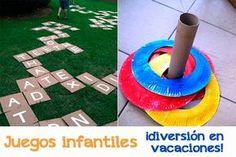 Juegos infantiles caseros para las vacaciones