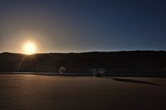 Cruden Bay, Scotland, beach, sea, landscape, sunset, surfing, blue, brown by PicClick on Etsy