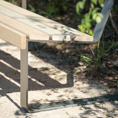 ATLANTIQUE bench and chair – mobilier urbain area