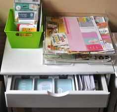 Check out these easy Project Life organization ideas http://scrapinspired.com/2014/02/project-life-organization/ #scrapbooking