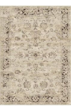 Rugs USA Beaumont Adileh Ivory Rug // This is the one from the blog pic above.