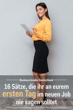 Wenn ihr euren neuen Job behalten wollt, solltet ihr vor allem an eurem ersten Tag besonders vorsichtig sein. Artikel: BI Deutschland Foto: Shutterstock/BI