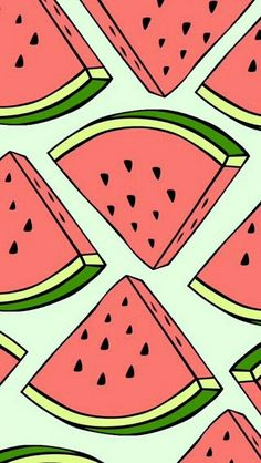 Seamless pattern - Watermelon