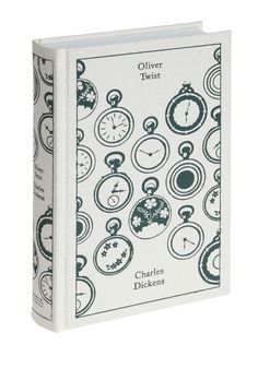 Oliver Twist. Add a special edition of one of your favorite novels to your bookshelf.  #modcloth