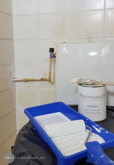 badkamer tegels verven | LIVING INSPIRATION | Pinterest | Toilet ...