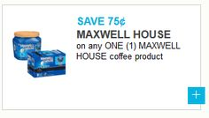 Rare: $.75 off any One Maxwell House Coffee Product (No Restrictions)