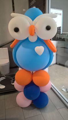 Jumbo Hoot balloon but no Jimmy Giggle. Balloons, Birthday Parties, Party, Kids, Decor, Birthday Celebrations, Children, Dekoration, Globes