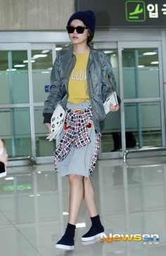 #snsd #girls #generation #sooyoung #korean #fashion #airport