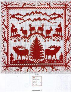 Cross-stitch Wildlife Silhouette...   Gallery.ru / Photo # 29 - №67 - Orlanda