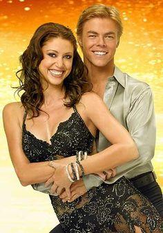 DWTS Season 6 Spring 2008 Shannon Elizabeth and Derek Hough Placed 6th